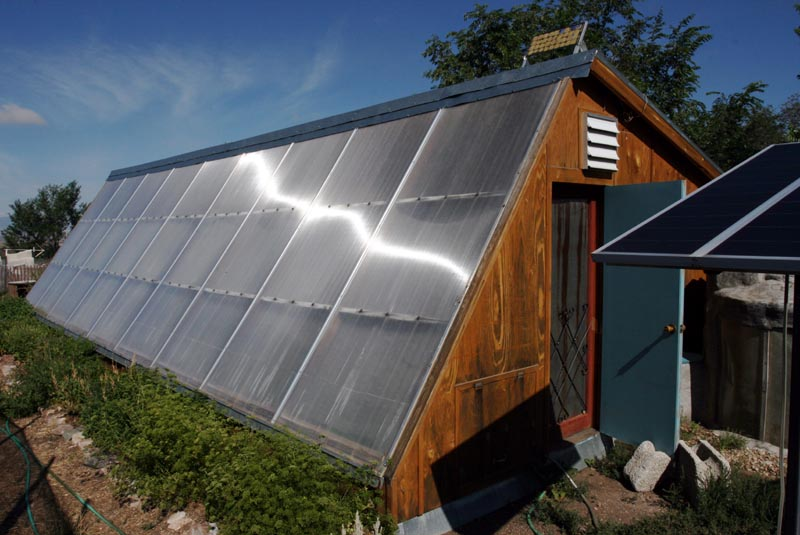 The Passive Solar Greenhouse Project